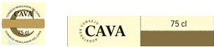 Etiqueta Cava