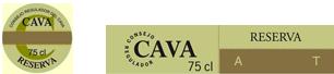 Etiqueta Cava Reserva