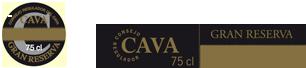 Etiqueta Cava Gran Reserva
